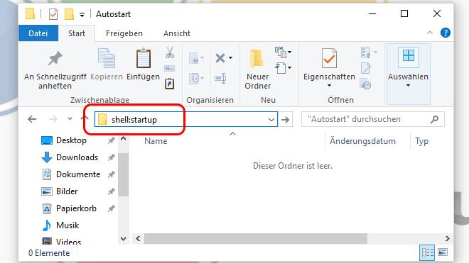 Windows 10 Popup-Lautstärkeregler entfernen