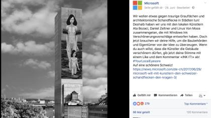 Microsoft - Your local Eyesore