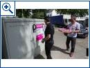 Telekom Verteiler Glasfaser Einbau Super Vectoring