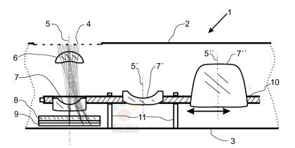 Zeiss: Patent auf Miniaturisierte Zoomkamera