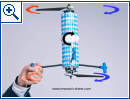 DuoCopter Drohne mit nur zwei Rotorblättern