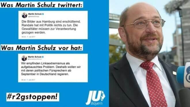 Junge Union Fake Tweet Martin Schulz