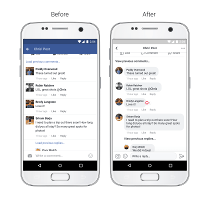 Facebook: Neuer mobiler News Feed