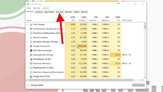 Windows 10 Autostartprogramme deaktivieren auf die intelligente Art