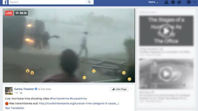 Hurrikan Irma: Fake-Videos