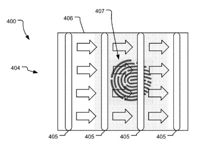 Microsoft Patent auf Fingerabdruckleser im Display