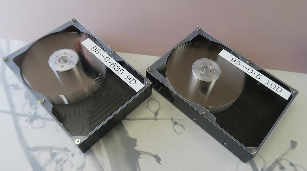 Hoya: Prototypen von Glas-Platter-Festplatten