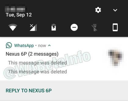 WhatsApp: Nachrichten löschen