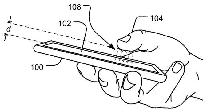 Microsoft Patent: Fingerabdruck über Display erkennen