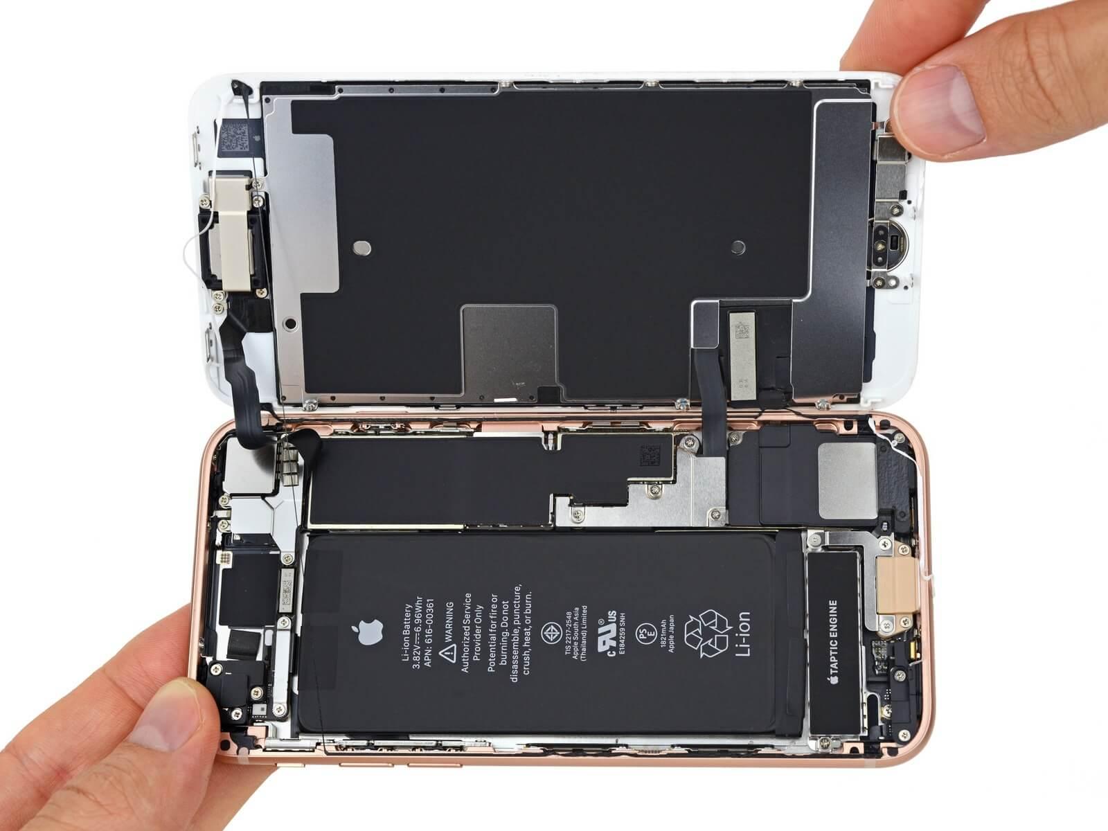 Teardown: So sieht Apples neues iPhone 8 von Innen aus - WinFuture.de