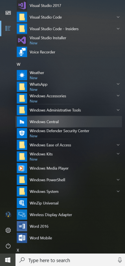 Windows 10 Insider Preview Build 17004