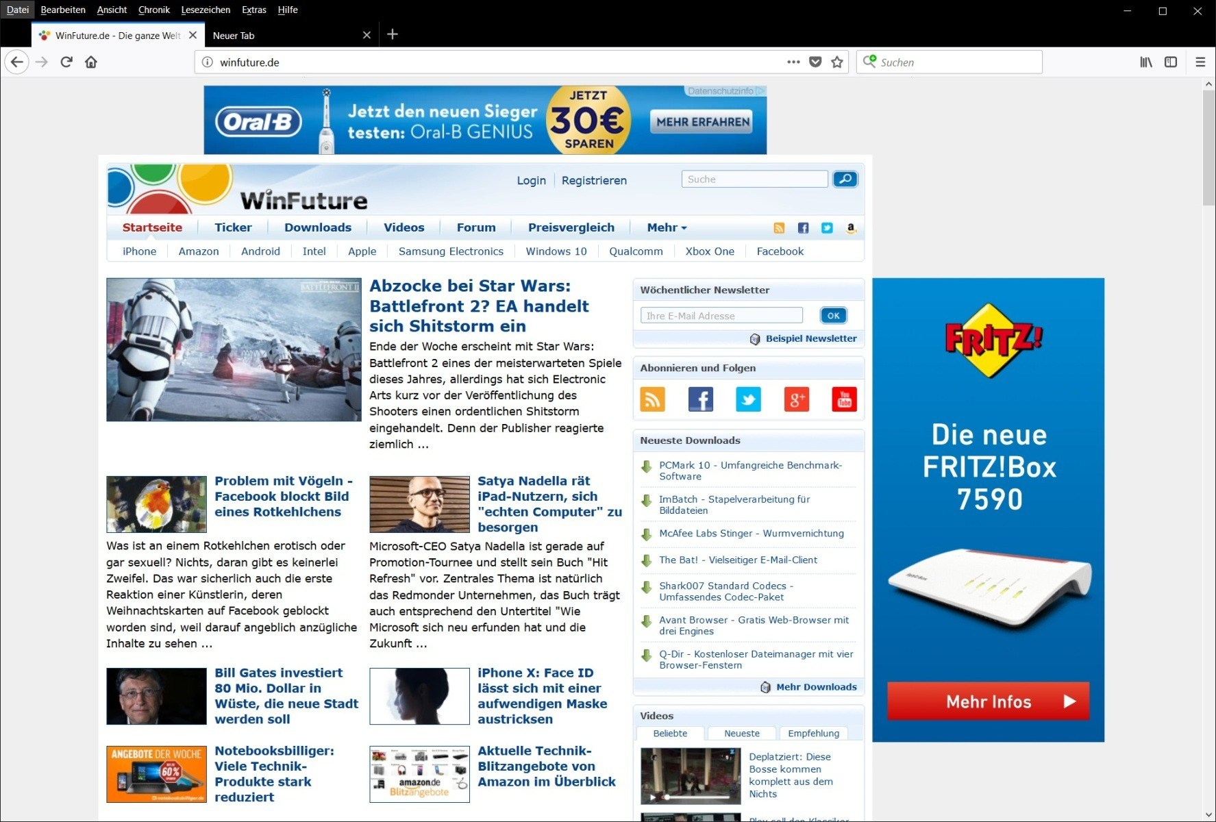 Mozilla Firefox - Kostenloser Open-Source-Browser Download