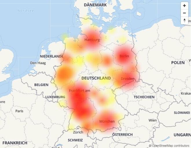 Störungen bei Vodafone