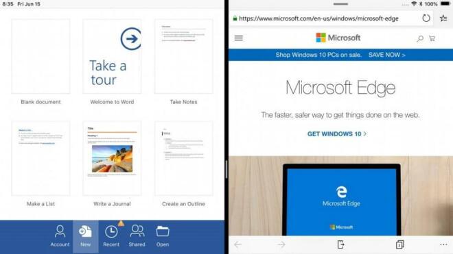 Microsoft: Edge für Android und iOS und Launcher für Android