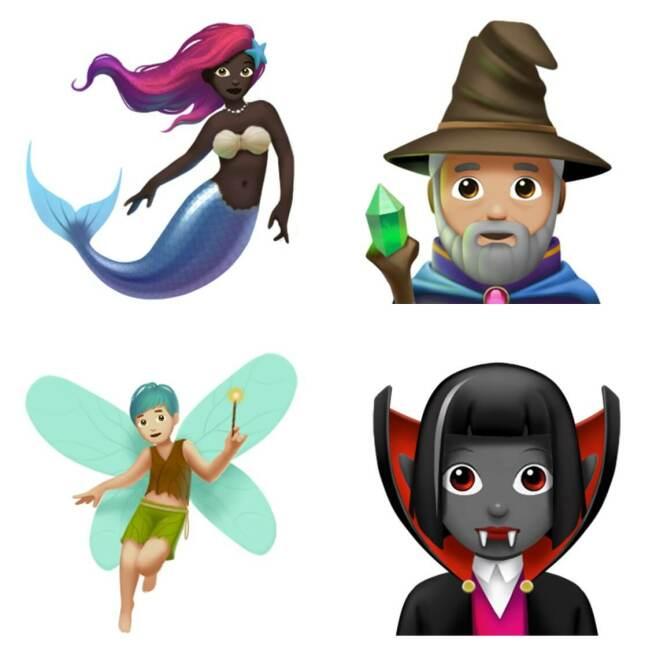 Emojis in iOS 11.1