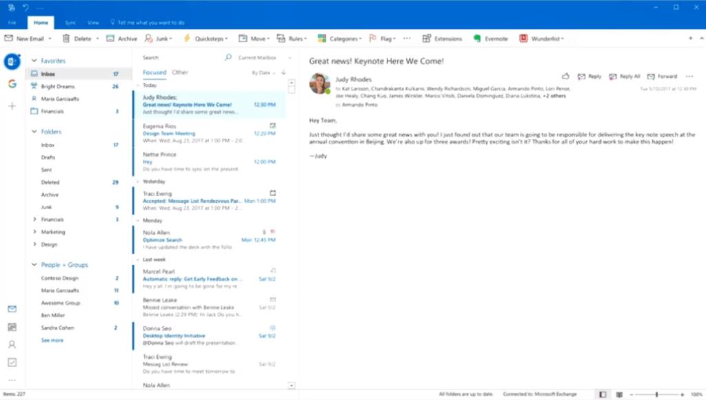 Outlook für den Desktop bekommt endlich eine neue Benutzeroberfläche ...