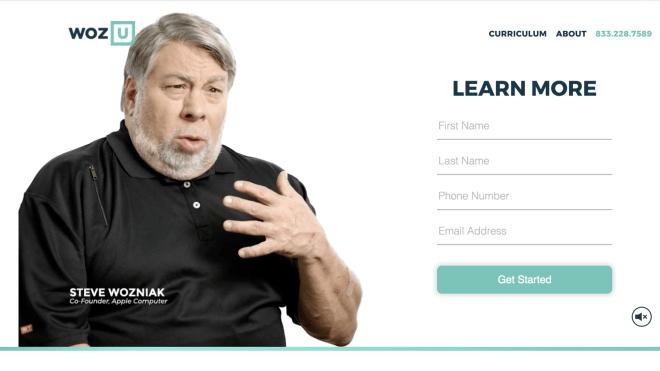 U Woz Lernplattform von Apple-Gründer Wozniak