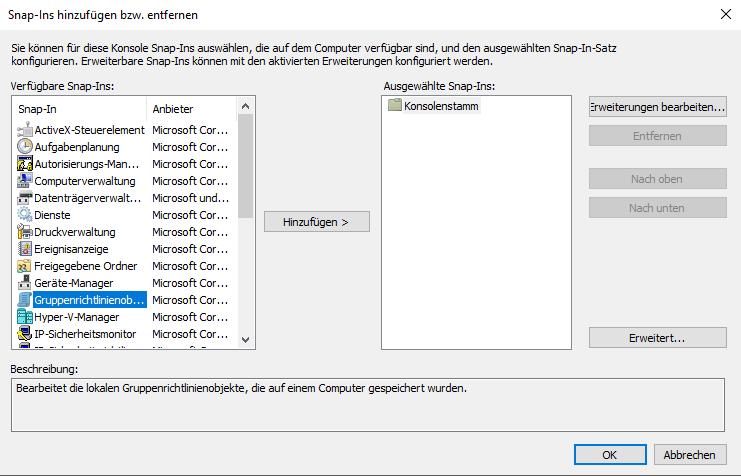 Windows 10 Fall Creators Update unterdrücken