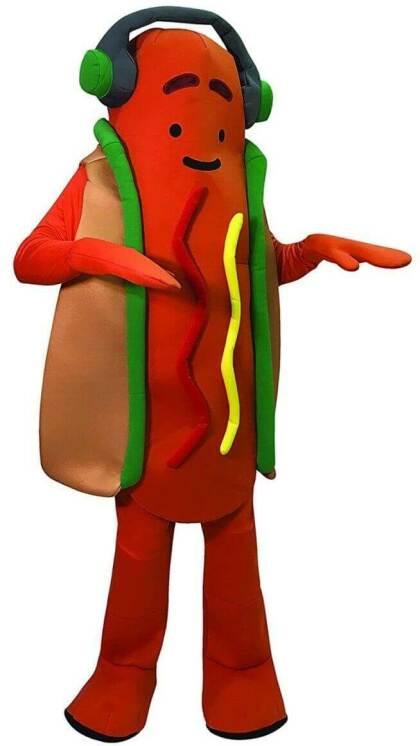 Snap: Dancing Hot Dog Costume