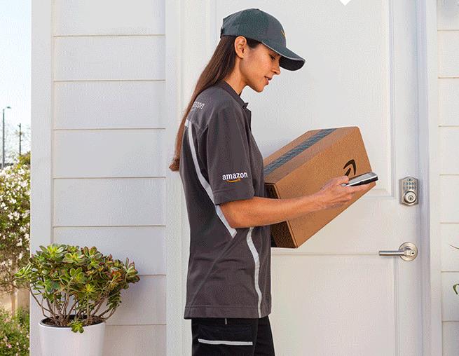 Amazon liefert in die Wohnung - auch wenn niemand daheim ist