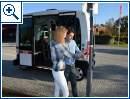 Autonomer Kleinbus der Bahn