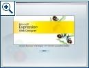 Microsoft Expression Web Designer CTP1
