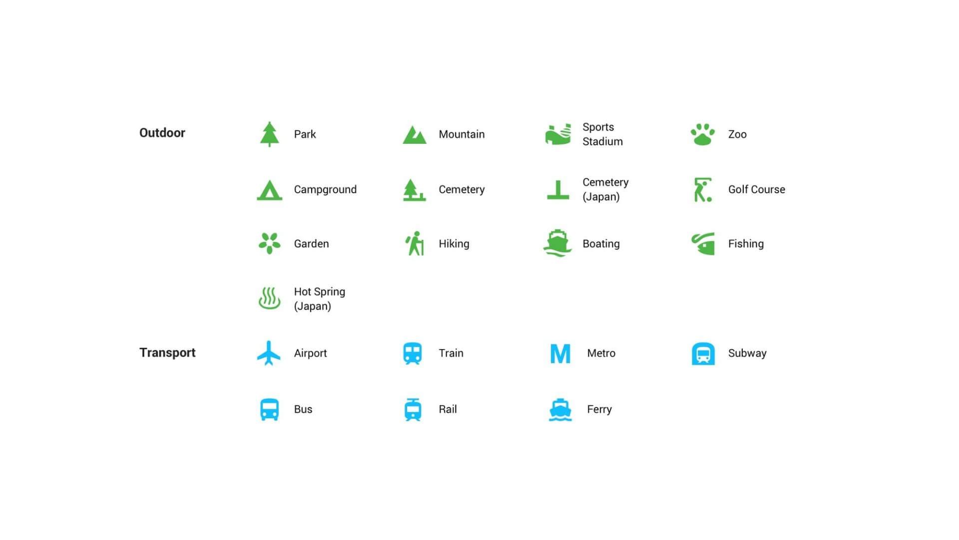 Google Maps: Neues Farbschema und Icons