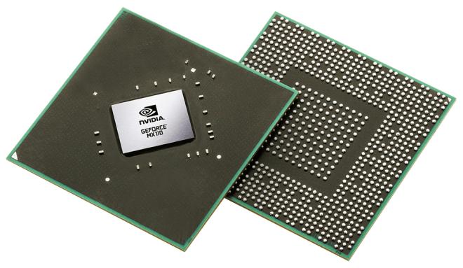 Nvidia GeForce MX110 / MX130