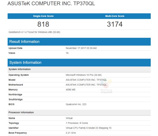 ASUS TP370QL