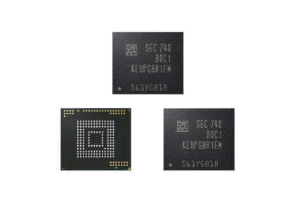 Samsung: Neue eUFS-Chips bringen 512 GB Speicher in Smartphones