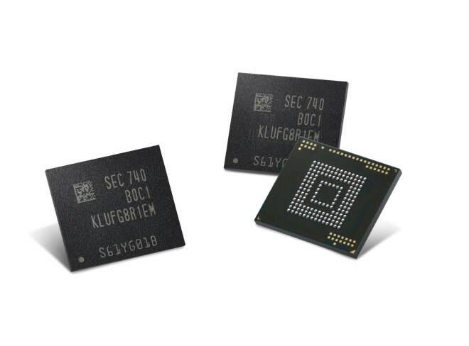 Samsung 512 Gigabyte UFS-Speicherchips