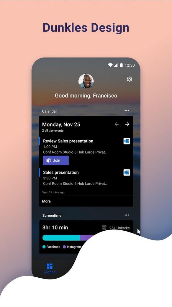Microsoft Launcher – Alternative Home Screen Like Android APK