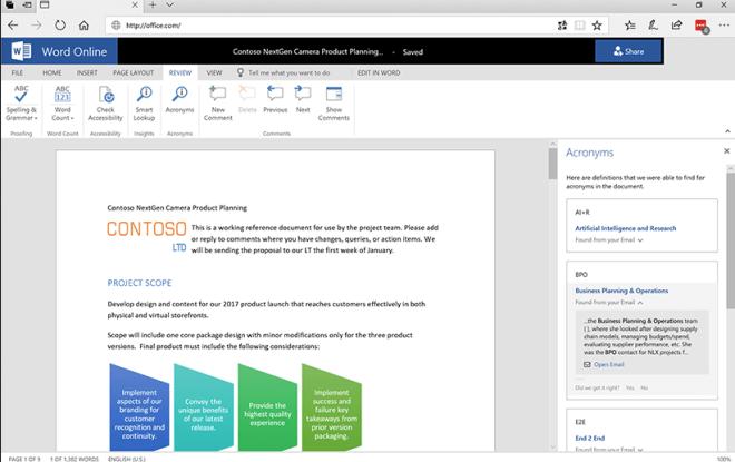 KI-Features für Office 365