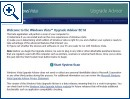 Windows Vista Upgrade Advisor