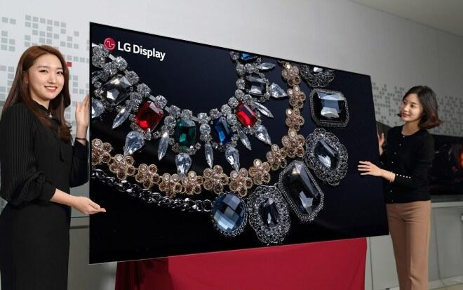 LG: Neue Displays zur CES 2018