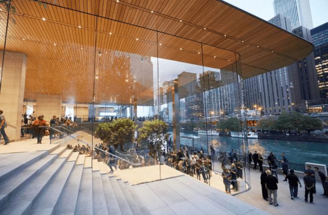 Apple Store Chicago Michigan Avenue