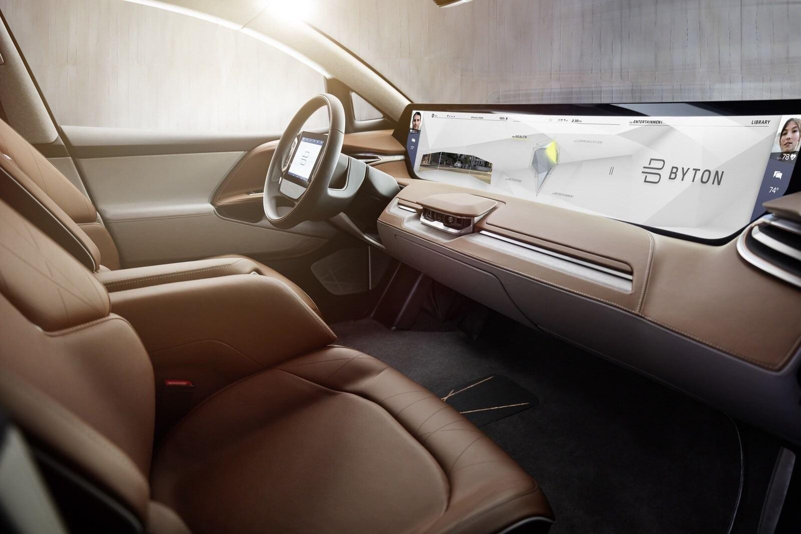 Elektro-SUV für 33.000 Euro: Byton zeigt autonomes E-Auto bei der ...