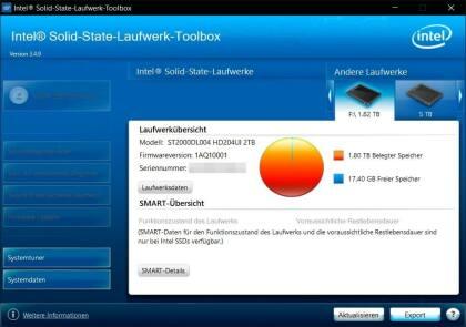 Intel Solid-State-Laufwerk-Toolbox