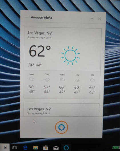 Alexa auf Windows 10