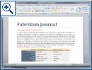 Office 2007 Beta 2 420er