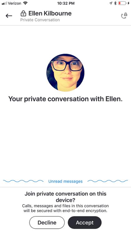 Skype Insider Preview Private Konversationen