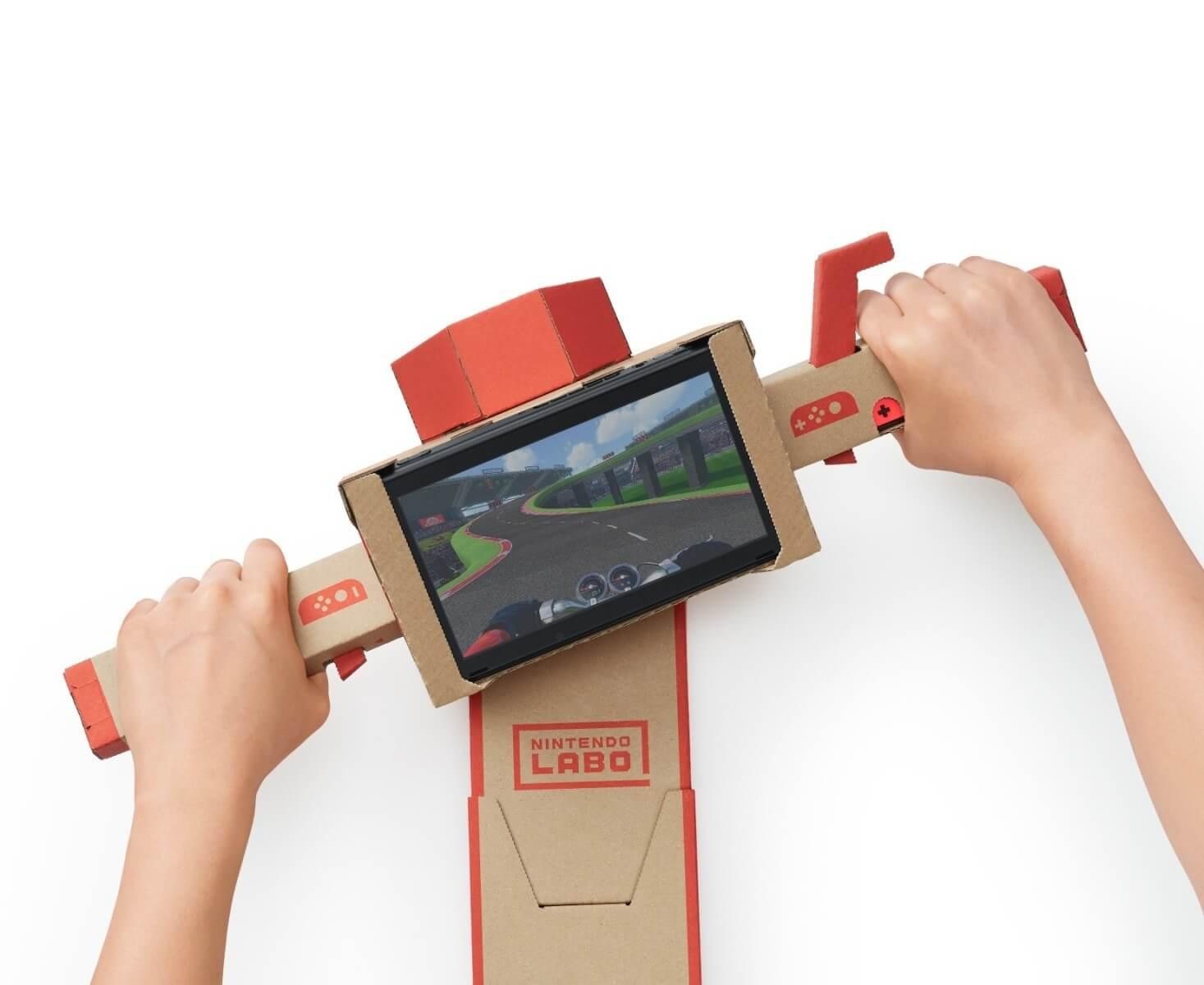 Nintendo Labo: Das ungewöhnlichste Gaming-Zubehör aller Zeiten