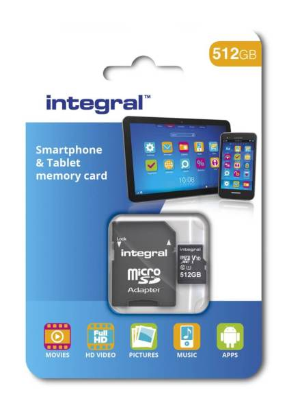 Integral: 512 GB MicroSD