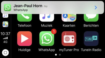 Whatsapp für Apples CarPlay