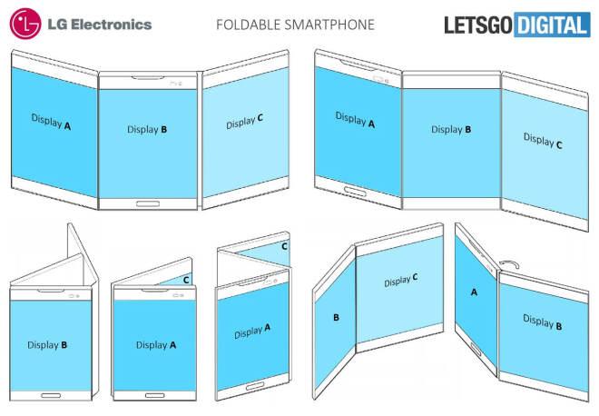 Faltbares Multi-Display von LG