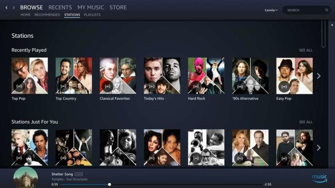Amazon Music App im Microsoft Store
