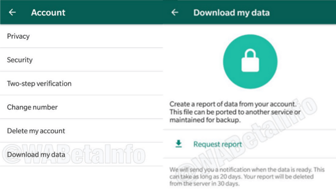 WhatsApp beta for Android 2.18.50