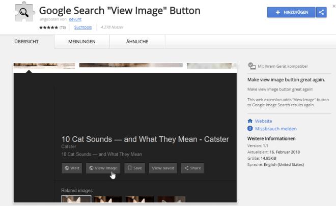 Google Bildersuche View Image
