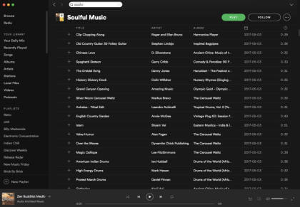 Spotify: Fake-Playlist