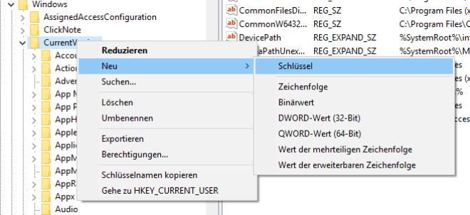 Windows 7 ohne Antiviren-Anwendung: Registry bearbeiten